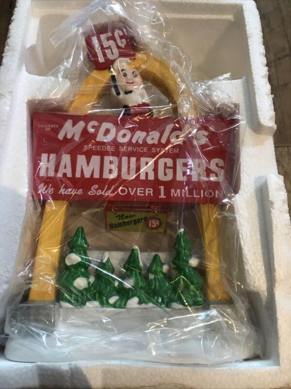 "Vintage Dept 56 ""McDonald"