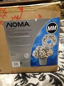 Christmas Noma Battery Operated Wreath Set