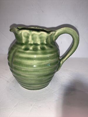 Ceramic Pitcher Crystalline Pottery Handmade Medium 30 oz Serving Pitcher