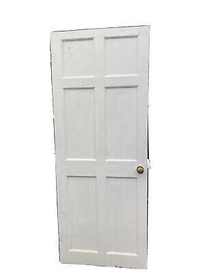 Reclaimed 6 Pannel Pine Door 2ft 6inc