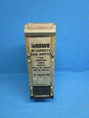 Rowe Bc 1200 1400 3500 Coin Changer Hopper Hi-capacity Rebuilt Tested 6-50276-08
