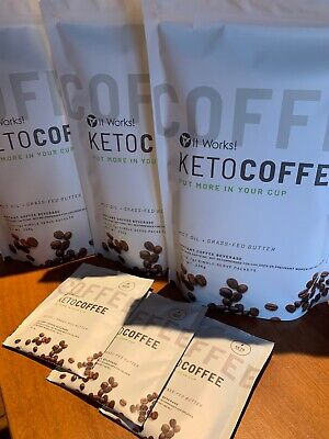 IT WORKS! 15 X Keto Coffees. New & Sealed. Weight Loss.