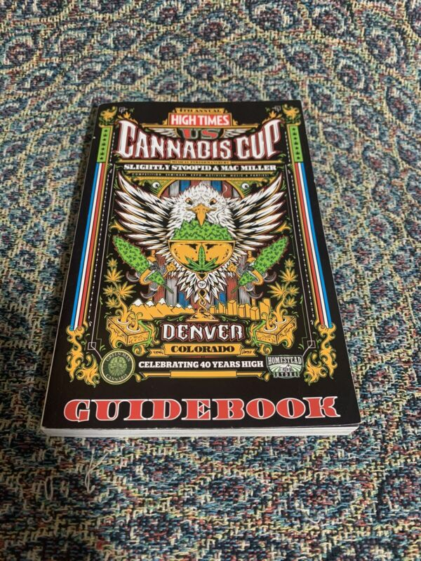 High Times US Cannabis Cup 4th Annual Guidebook 2014 Mac Miller Slightly Stoopid