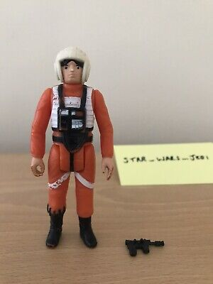 Vintage Star Wars - Luke X-Wing 1978 Complete w/ Rebel Blaster