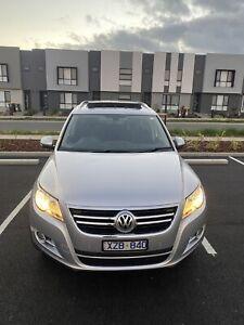 2010 Volkswagen Tiguan 147 Tsi 7 Sp Automatic Tiptronic 4d Wagon