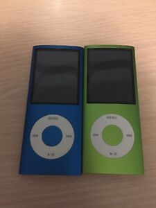 iPod Nano 4th Generation 4gb $50 each