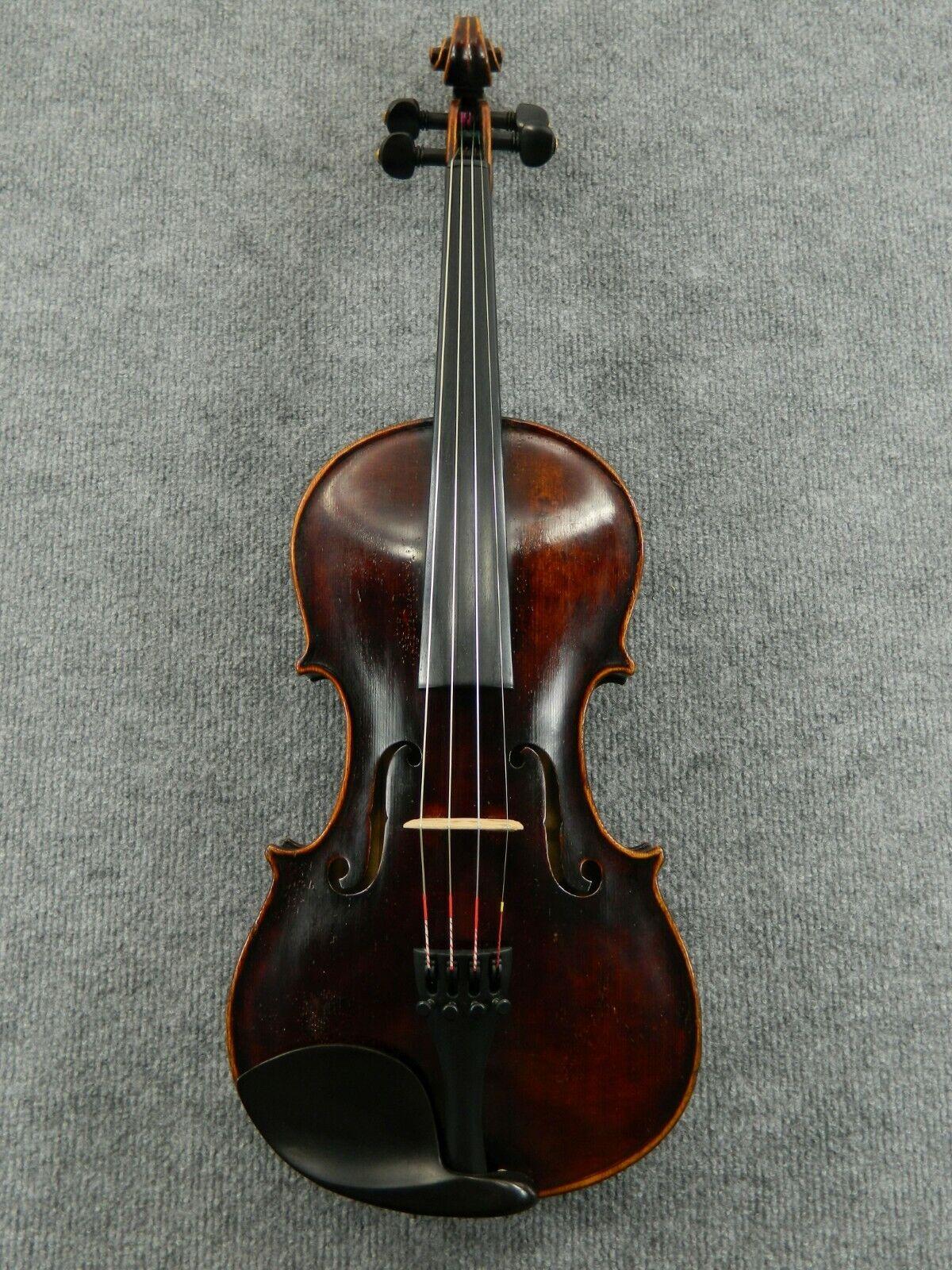 Alte Geige Violine Schuster Co. 1912, Markneukirchen