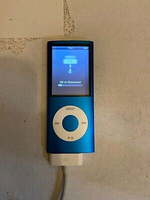 Apple iPod Nano 4th Generation A1285 BLUE 8GB Music Player