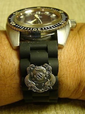 22MM DEEP SEA DIVER 1ST CL. HARD HAT DIVER'S WATCHBAND WATCH BAND FITS ALL SIZES