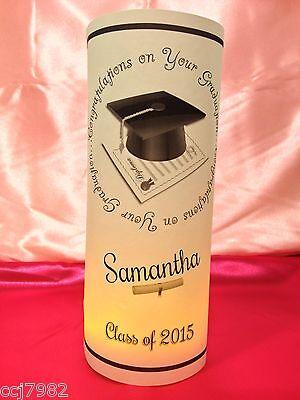 10 Personalized Graduation Luminaries Table Centerpieces Party Decorations #3 - Class Reunion Centerpieces