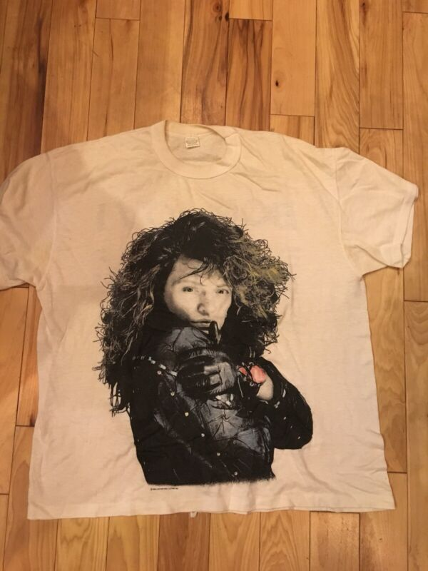 Vintage Original Jon Bon Jovi T shirt New Jersey 1989 Bon Jovi