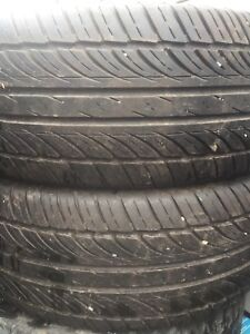 Two tires like new 235/60r16