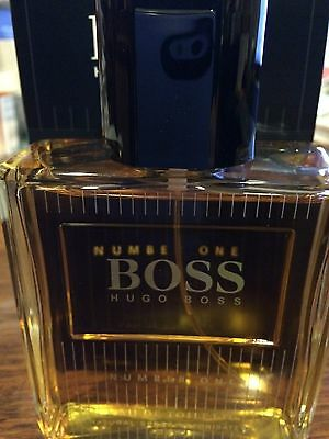 BOSS #1 NO. Number ONE by * Hugo Boss * Cologne for Men * 4.2 oz EDT Spray NEW  Hugo Boss Number One