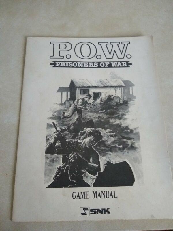 POW Prisoners of War Arcade Manual