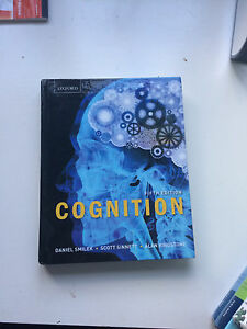 Cognition textbook
