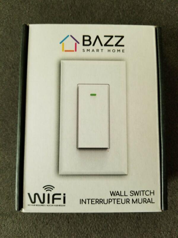Bazz Wall Switch WIFI No Hub Needed SWTCHWFW1 NEW