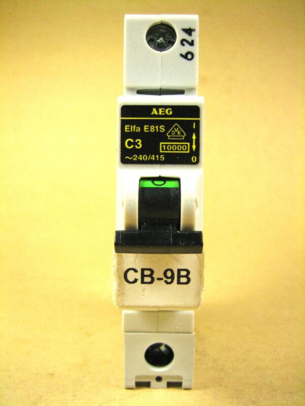 AEG -  ELFA-E81S-C3 -  Circuit Breaker