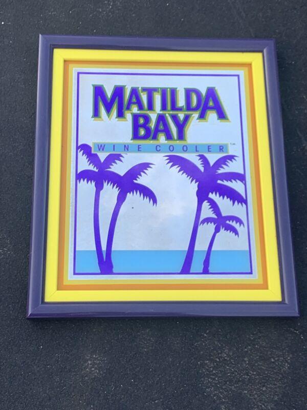 W@W Matilda Bay Wine Cooler Bar Mirror Man Cave Miller Tavern Game Beach Florida