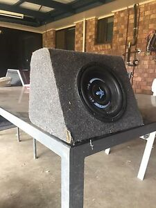 """10"""" subwoofer North Tivoli Ipswich City Preview"""