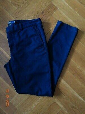 Polo Ralph Lauren Women's Brooke Skinny Chino Pants, Navy Blue, Size (Polo Ralph Lauren Skinny Brooke Chino Pant)