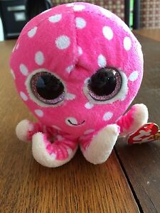 Ollie the octopus Beanie Boo with tags