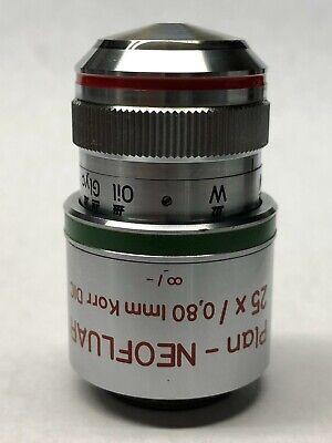 Zeiss Plan-neofluar 25x0.80 Imm Korr Dic Microscope Objective