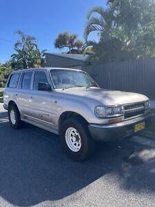 1993 Toyota Landcruiser Rv (4x4) 5 Sp Manual 4x4 4d Wagon
