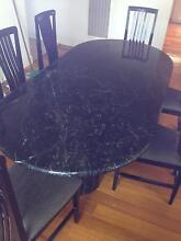 Marble dining table Echuca Campaspe Area Preview