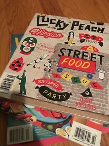Looking for lucky peach magazine!