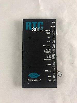Animatics Rtc3000 Miniature Servo Controller - The Size Of A Credit Card