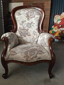 Vintage Grandfather Chair Tuncurry Great Lakes Area Preview