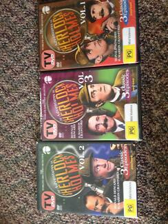 Sherlock Holmes Brand new and sealed DVDs