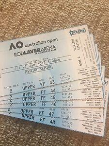 Australian Open Men's semifinal tickets Rosanna Banyule Area Preview