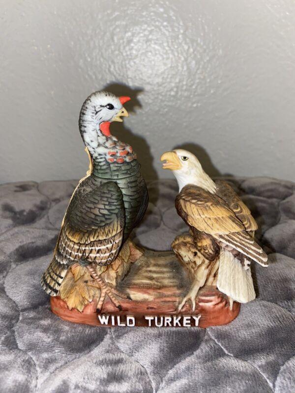 1984 Wild Turkey & Eagle No. 4 Mini Decanter