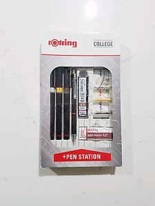 *brand new* Rotring Rapidograph 3 Pen set Architecture Eight Mile Plains Brisbane South West Preview