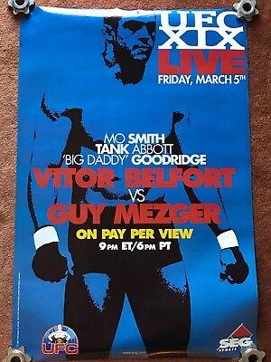 UFC XIX UFC 19 Vitor Belfort Tito Ortiz, MMA Classic UFC Poster Full Size Poster