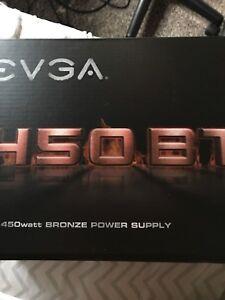 450 watt bronze 80+ power supply