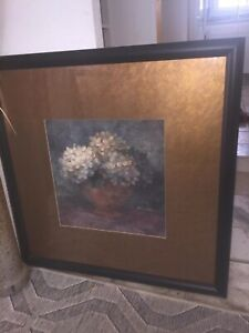 2 Large beautiful framed paintings!