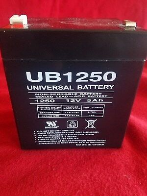 Upg Kit - UPG UB1250 12V 5.0AH Trailer Break Away Kit Battery