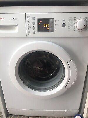 Bosch Exxcel Washing Machine 1200 rpm Spin
