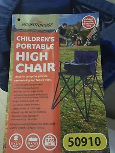 Camping /fold up highchair Dapto Wollongong Area Preview