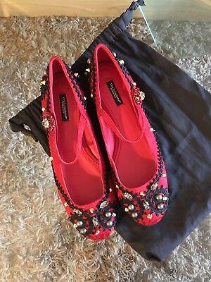 Dolce Gabbana Flat Women Shoes