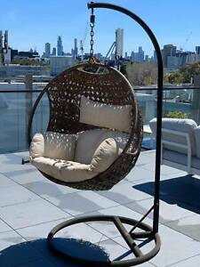SOLD****Swinging egg chair - as is condition