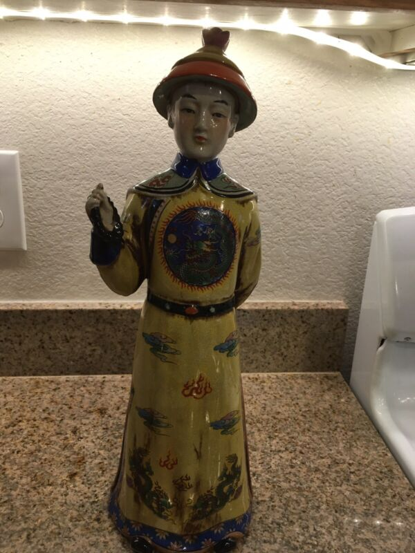 Asian Statue Porcelain 18 inches