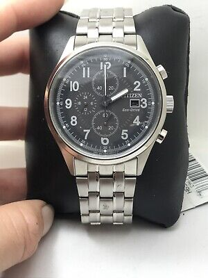 Citizen CA0620-59H Men's Eco Drive Chandler Stainless Steel Chronograph Watch-15