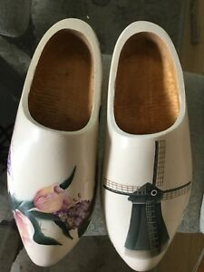 Hand painted Dutch Wooden shoes