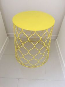 Yellow side table Hope Island Gold Coast North Preview