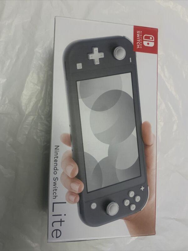 Nintendo+Switch+Lite+Grey+Handhled+System