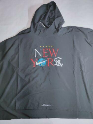 Nike New York City NYC Running Poncho Jacket CQ7803 010 Size
