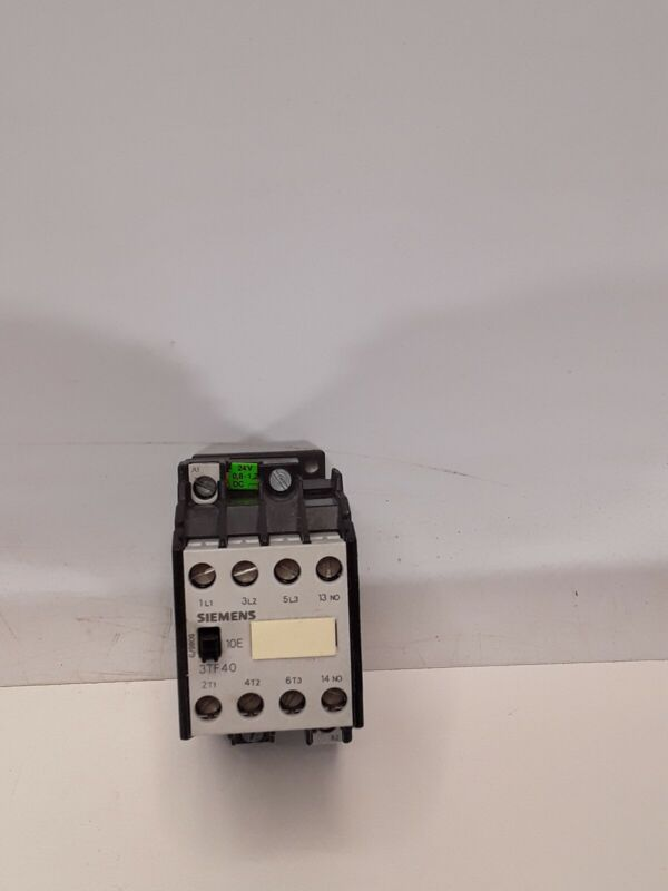 Siemens 3TF4010-0B Contactor 24V COIL 9A AMP 600VAV 3TF40100B NEW WITHOUT BOX